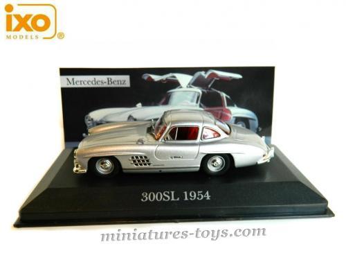 La mercedes benz 300 sl 1954 en miniature d 39 ixo models au for Miniature mercedes benz models